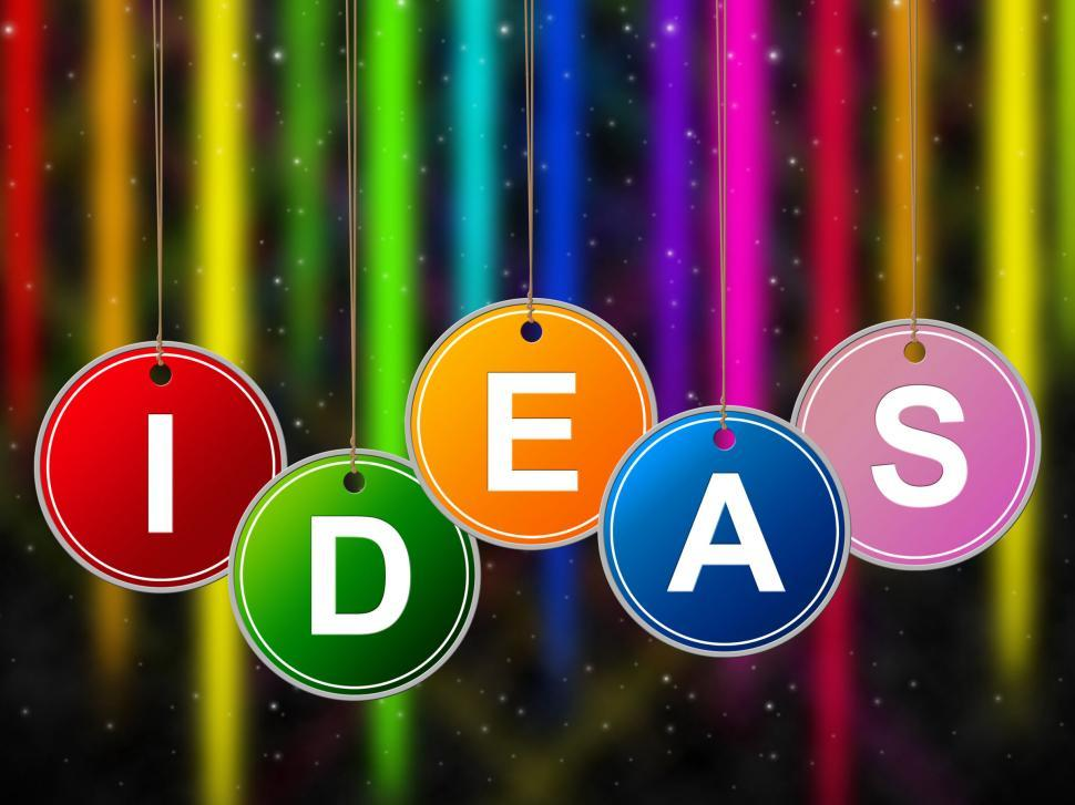 Download Free Stock HD Photo of Ideas Kids Represents Creativity Child And Youngsters Online