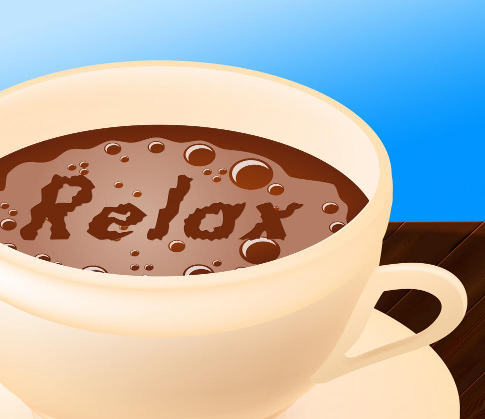 Download Free Stock HD Photo of Relax Coffee Means Caffeine Resting And Coffeehouse Online
