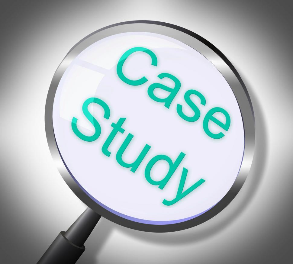 Download Free Stock HD Photo of Case Study Shows Learned Searching And Education Online