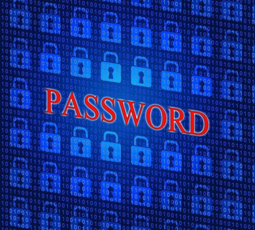 Download Free Stock HD Photo of Password Security Shows Sign In And Access Online