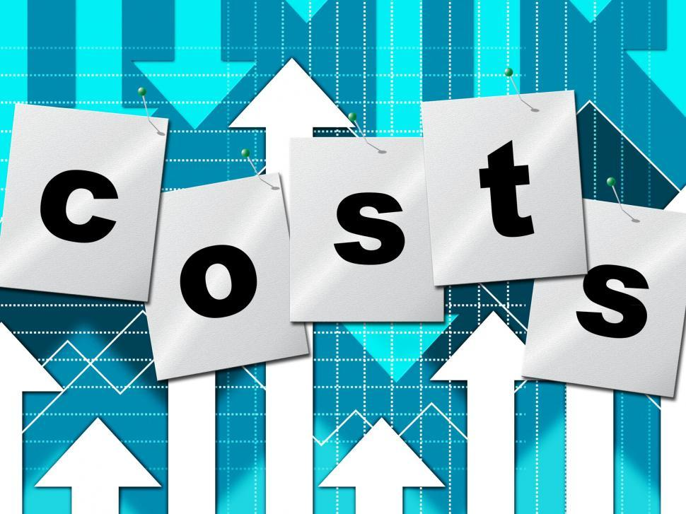 Download Free Stock HD Photo of Costs Expenses Means Budgeting Buy And Accounting Online
