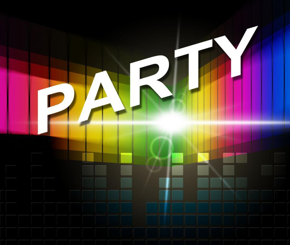 Download Free Stock HD Photo of Music Party Shows Sound Track And Celebrations Online
