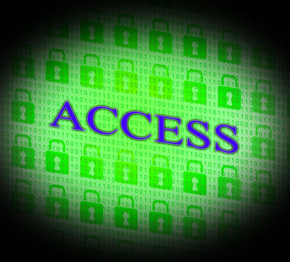 Download Free Stock HD Photo of Security Access Represents Protect Encrypt And Accessible Online