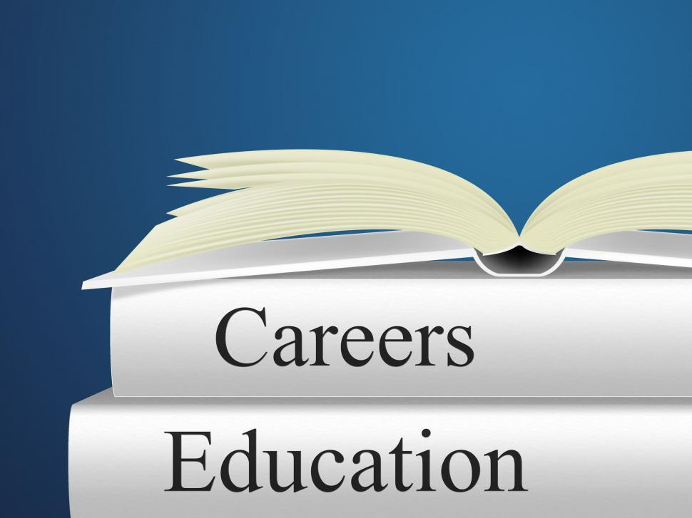 Download Free Stock HD Photo of Education Career Represents Line Of Work And College Online