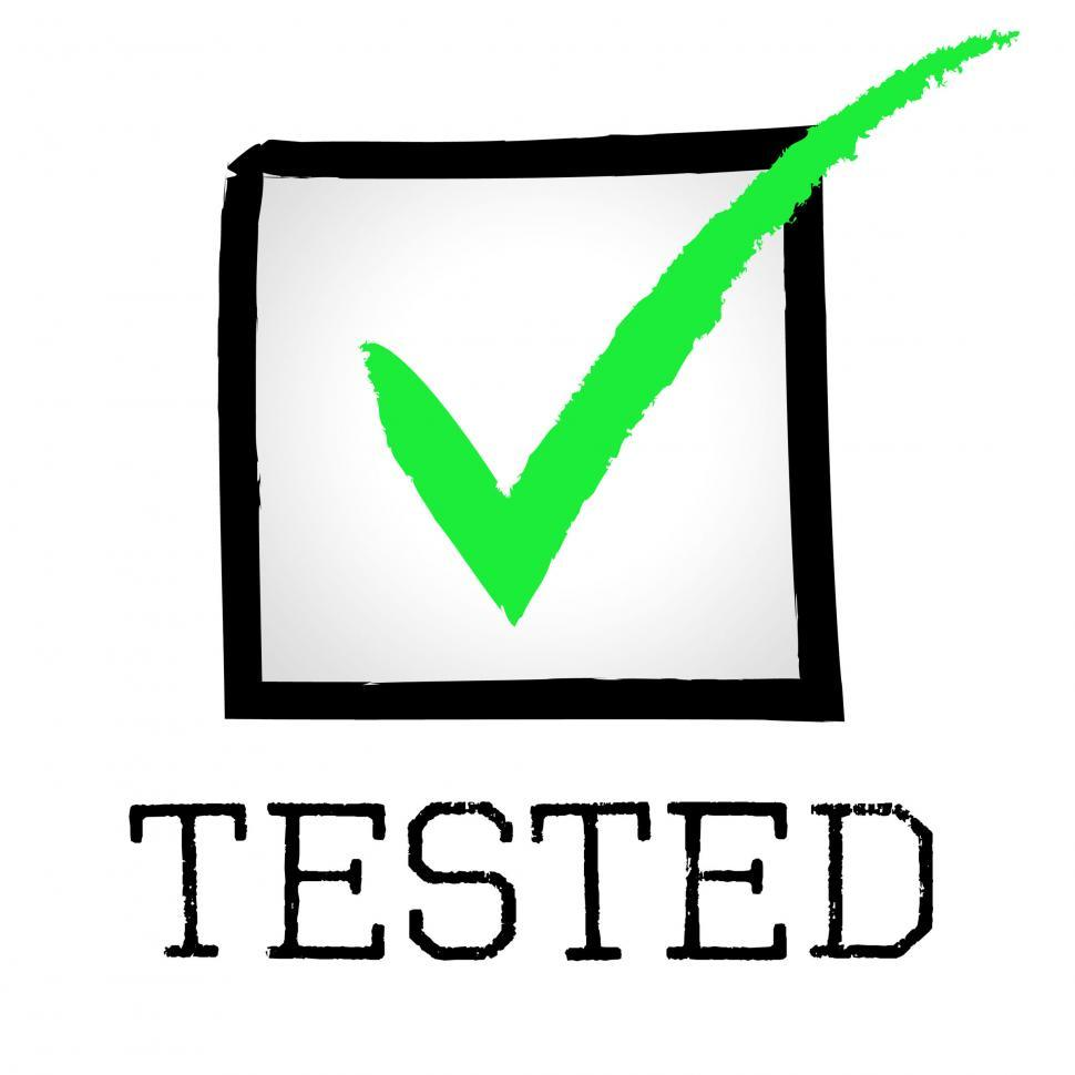 Download Free Stock HD Photo of Tick Tested Shows Pass Approved And Tests Online