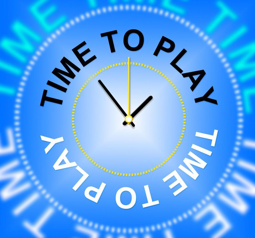Download Free Stock HD Photo of Time To Play Means Games Fun And Playtime Online