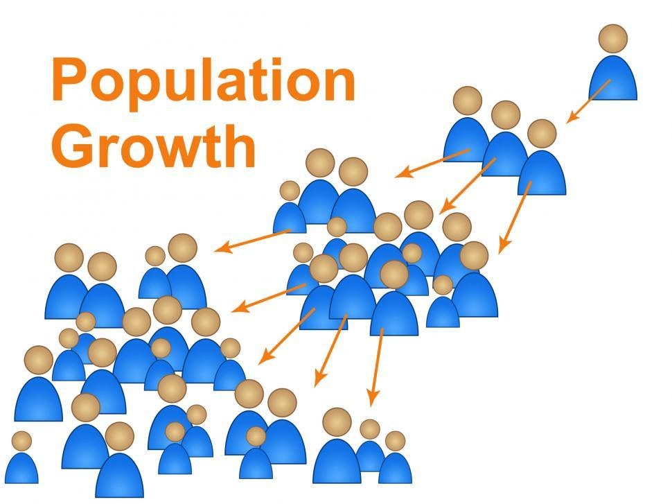 Download Free Stock HD Photo of Population Growth Shows Family Reproduction And Expecting Online