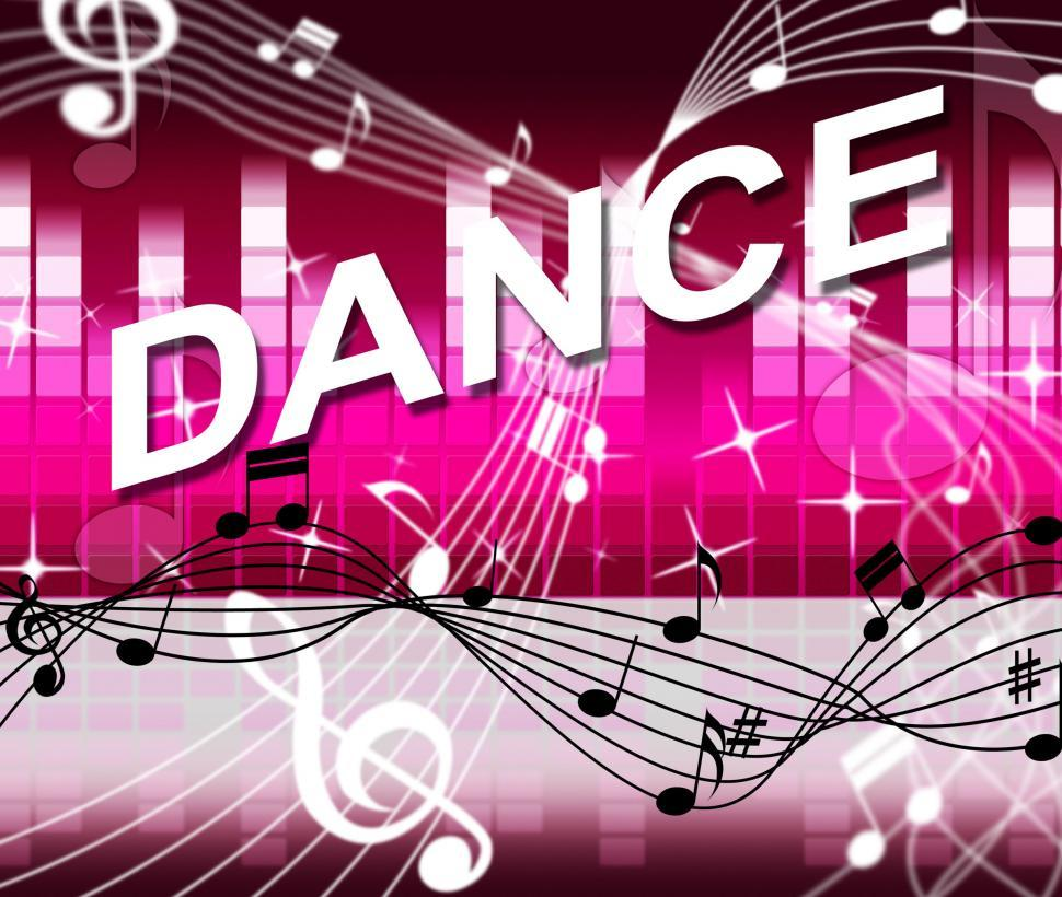 Download Free Stock HD Photo of Dancing Music Shows Sound Track And Melody Online