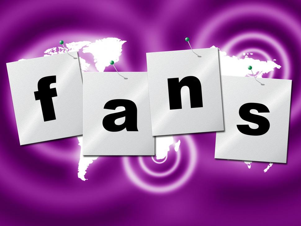 Download Free Stock HD Photo of Online Fans Represents World Wide Web And Searching Online
