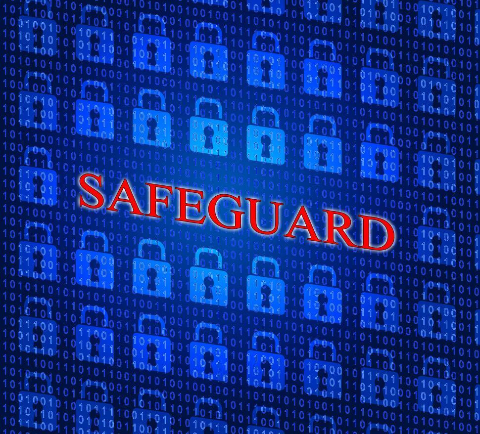 Download Free Stock HD Photo of Safeguard Safety Represents Privacy Key And Protected Online
