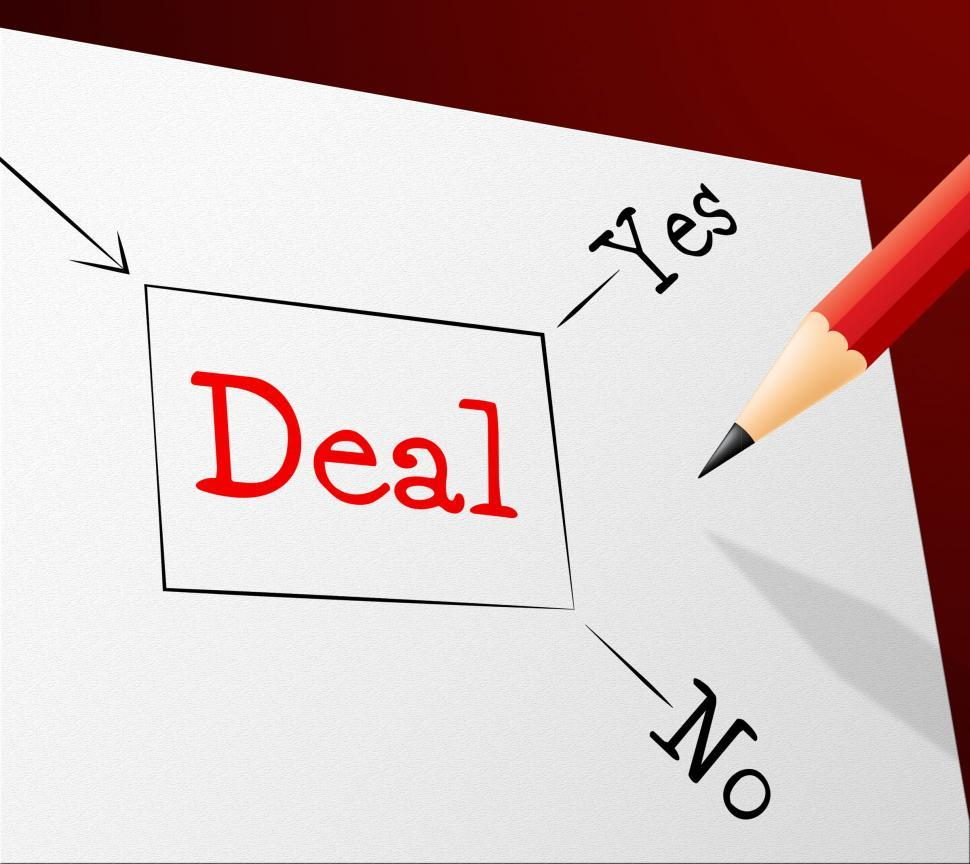 Download Free Stock HD Photo of Choice Deal Shows Best Deals And Agreement Online
