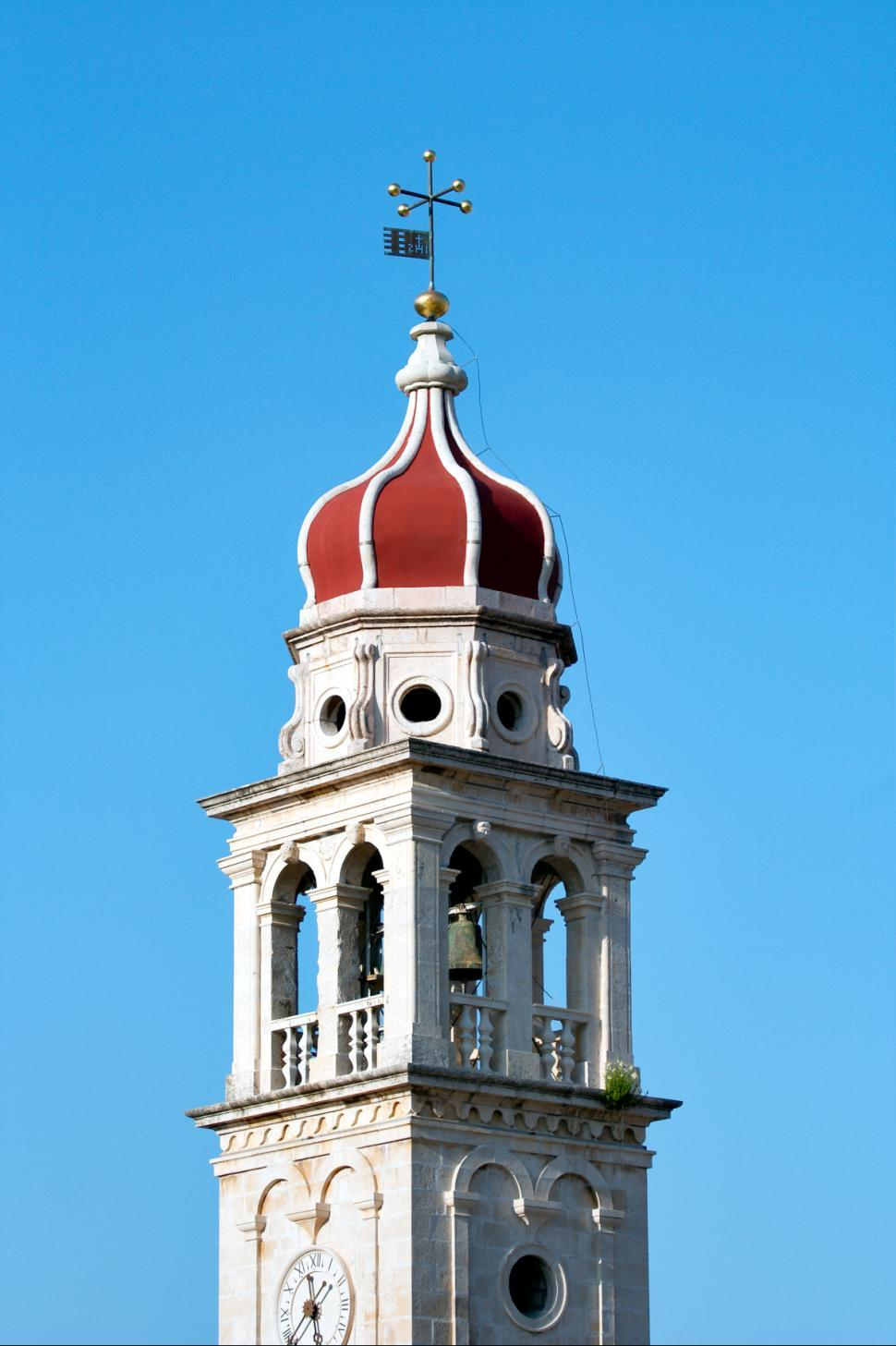 Download Free Stock HD Photo of Baroque church tower Online