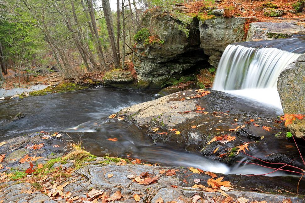 Download Free Stock HD Photo of Factory Falls at George W. Childs Recreation Site. PA Online