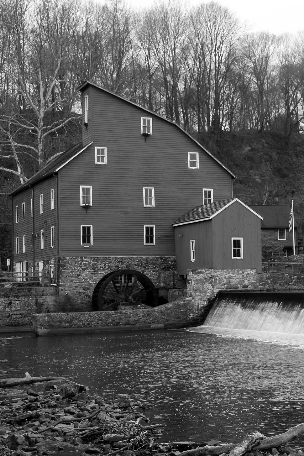 Download Free Stock HD Photo of Red Mill Clinton NJ Online