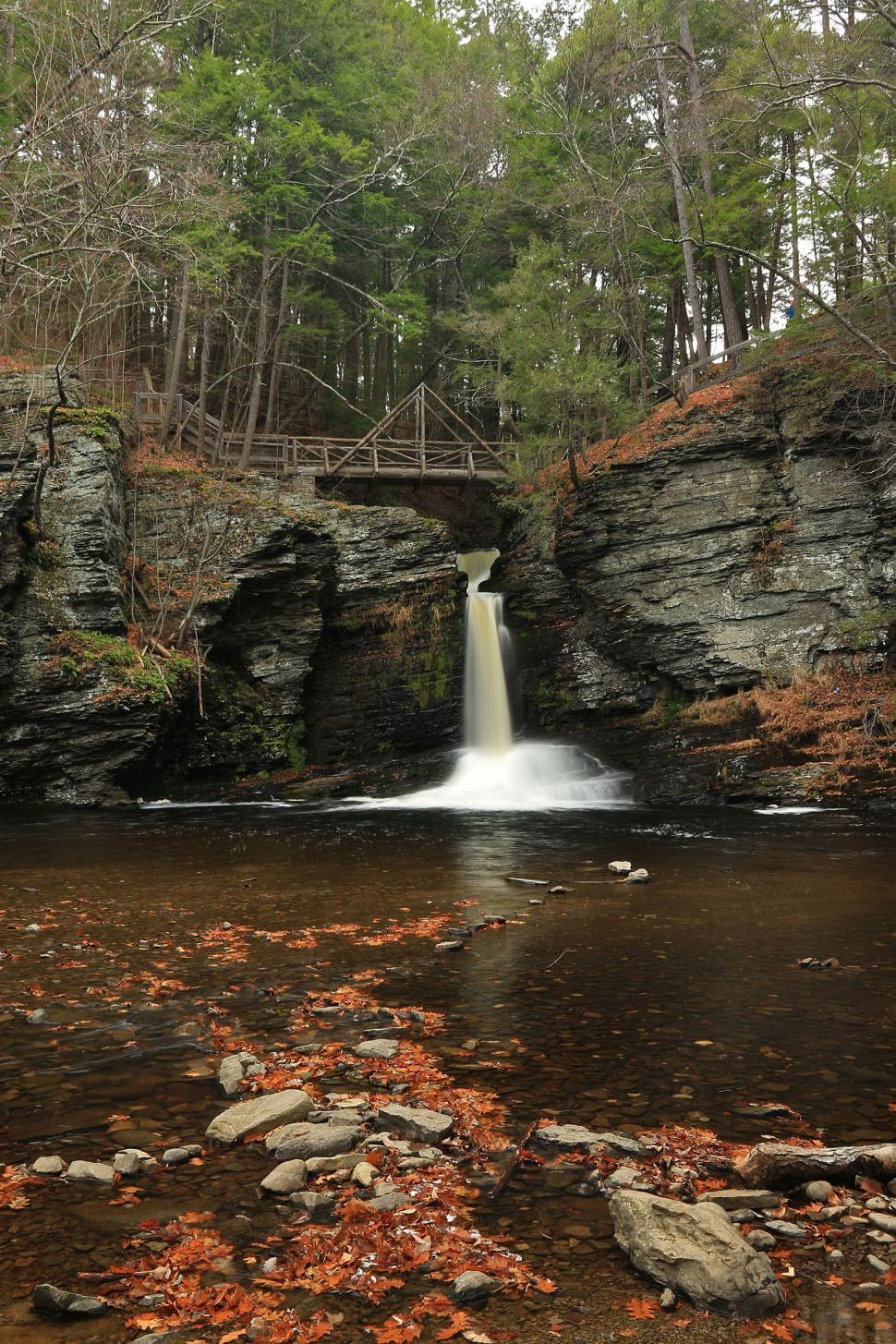 Download Free Stock HD Photo of Deer Leap Falls at George W. Childs Recreation Site. Dingmans Fe Online