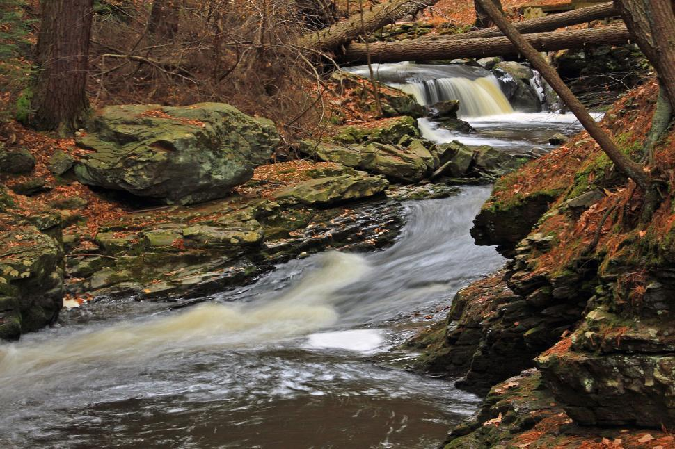 Download Free Stock HD Photo of Fulmer Falls at George W. Childs Recreation Site. Dingmans Ferry Online