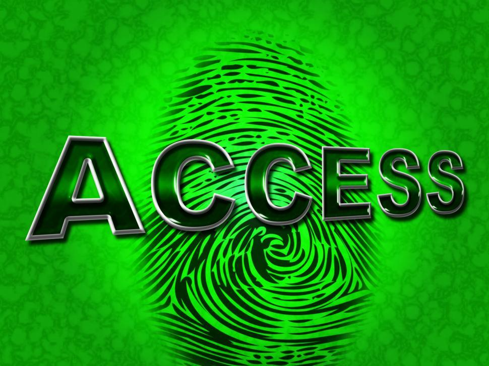 Download Free Stock HD Photo of Access Security Means Unauthorized Entry And Permission Online