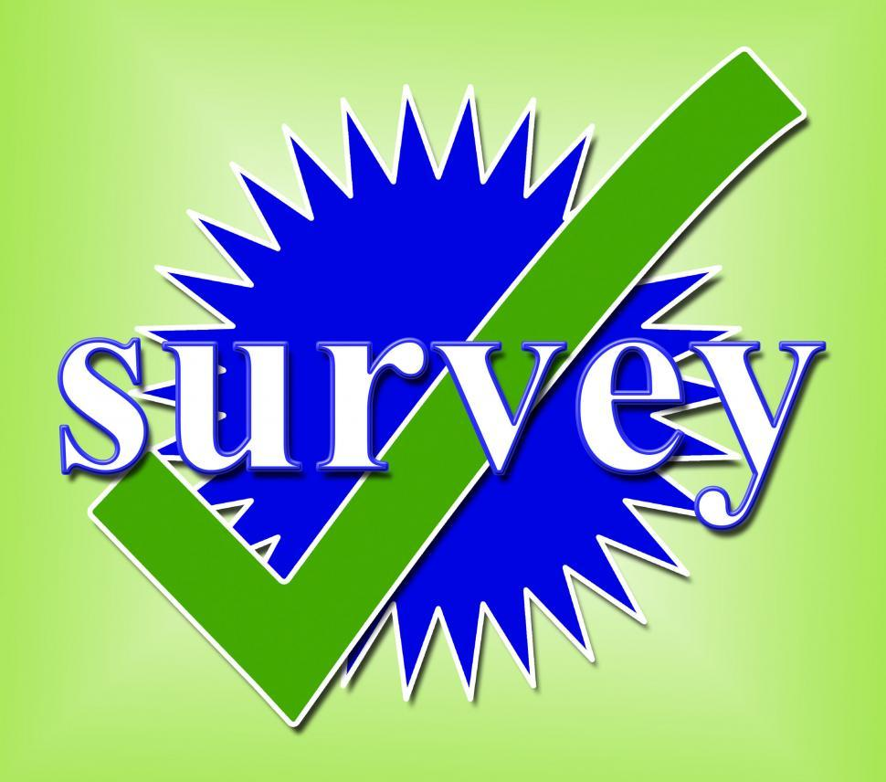 Download Free Stock HD Photo of Survey Tick Shows Confirm Opinion And Feedback Online