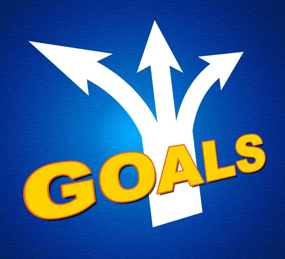 Download Free Stock HD Photo of Goals Arrows Shows Targeting Direction And Aspirations Online