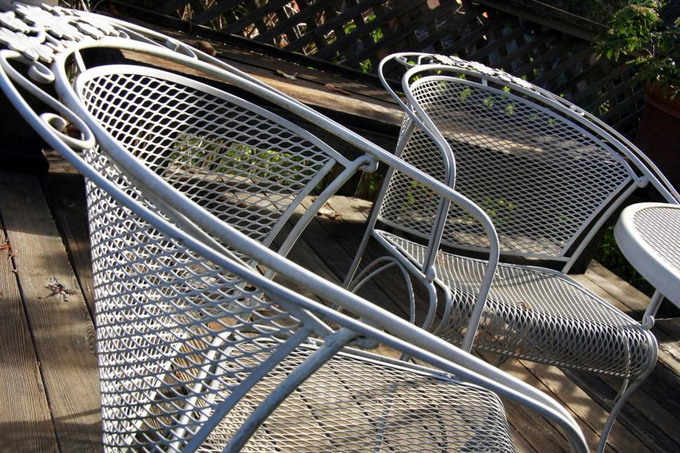 Download Free Stock HD Photo of Patio chairs Online