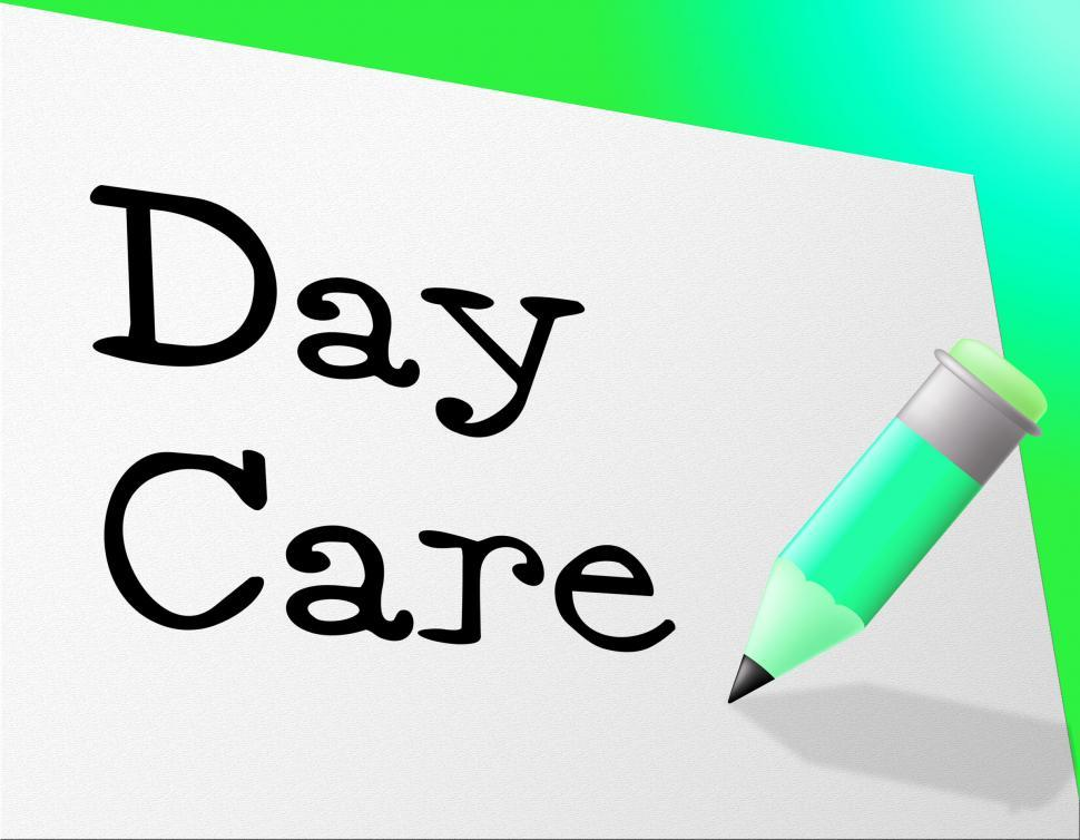 Download Free Stock HD Photo of Day Care Represents Childrens Club And Children s Online