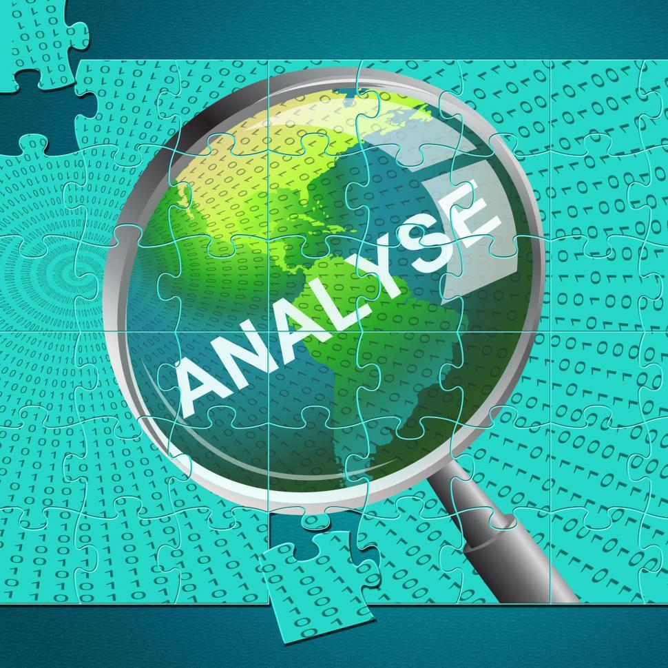 get free stock photos of analyse magnifier indicates data analytics