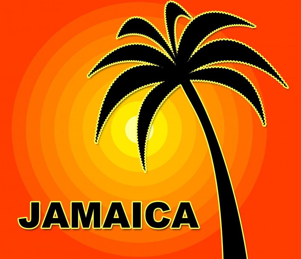 Download Free Stock HD Photo of Jamaican Holiday Indicates Go On Leave And Summer Online