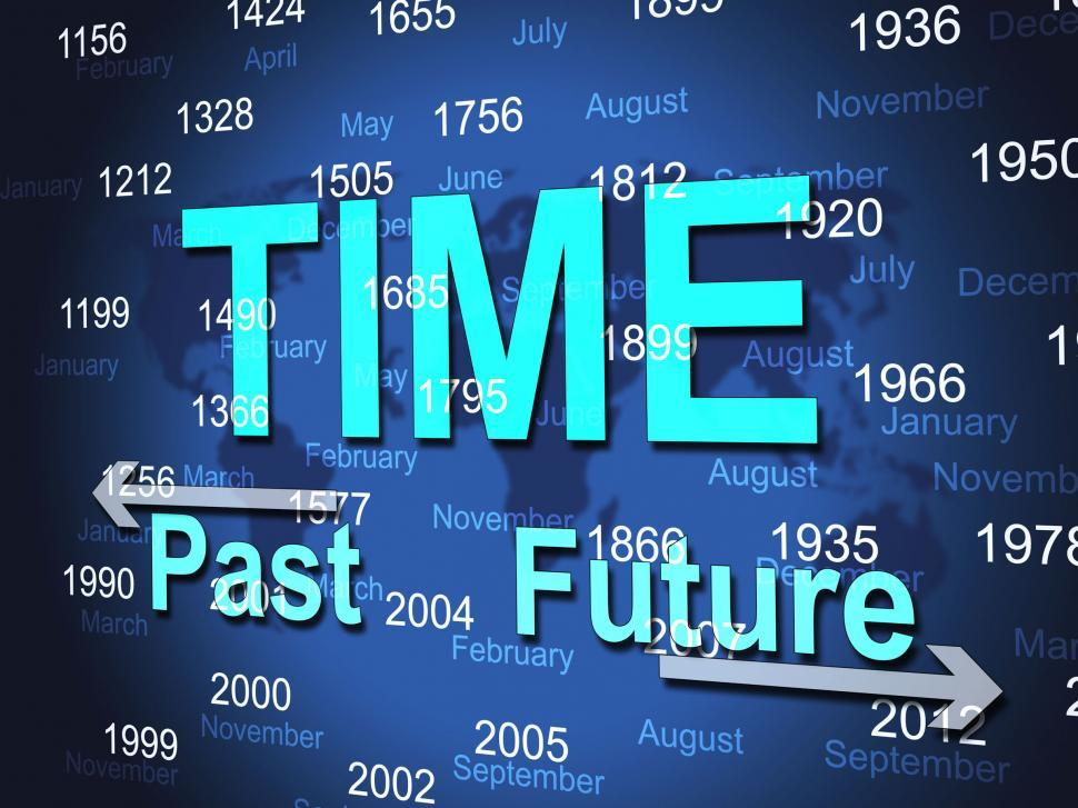 Download Free Stock HD Photo of Time Line Shows At The Moment And Ended Online