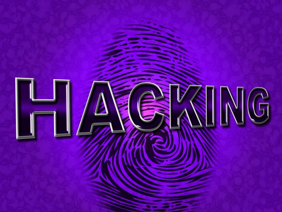Download Free Stock HD Photo of Internet Hacking Represents World Wide Web And Attack Online
