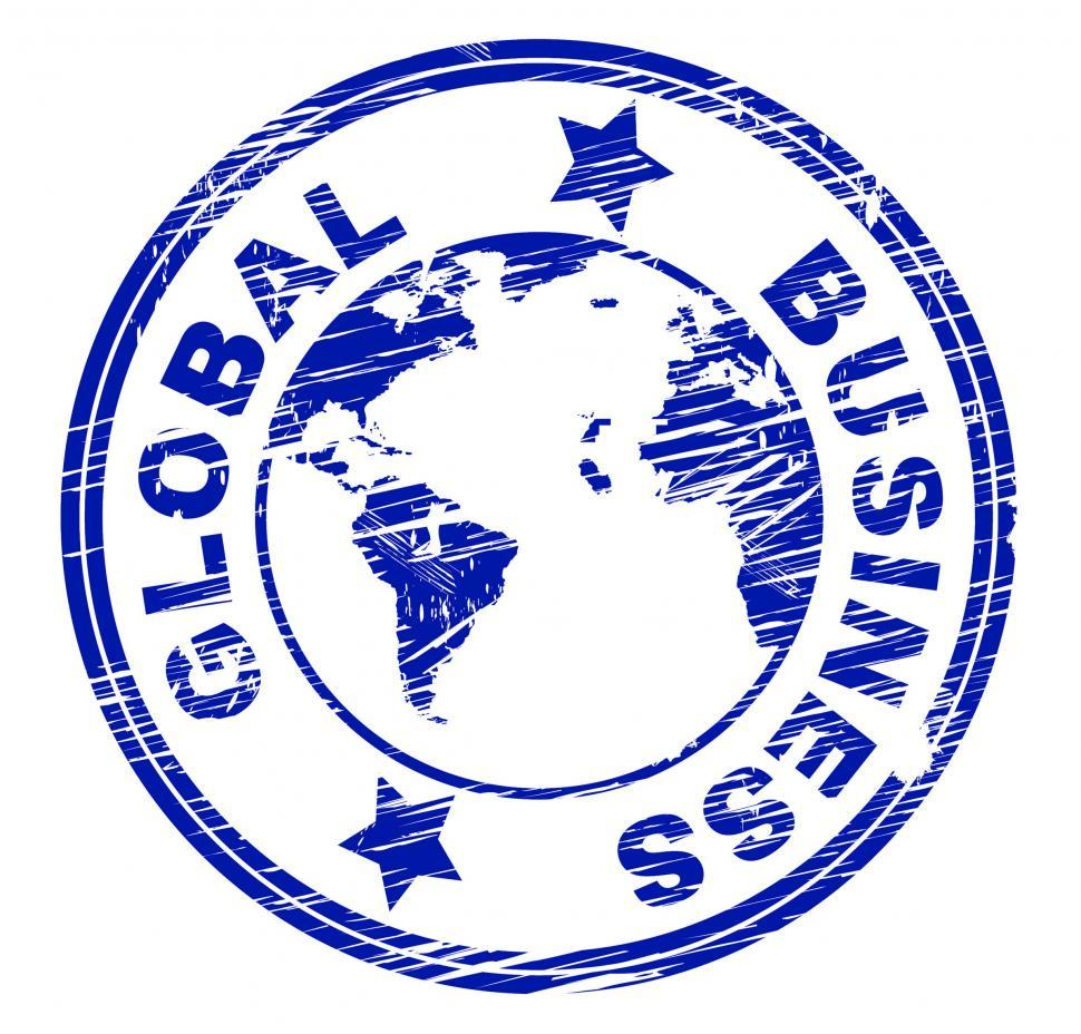 Download Free Stock HD Photo of Global Business Indicates Commercial Corporate And Worldly Online