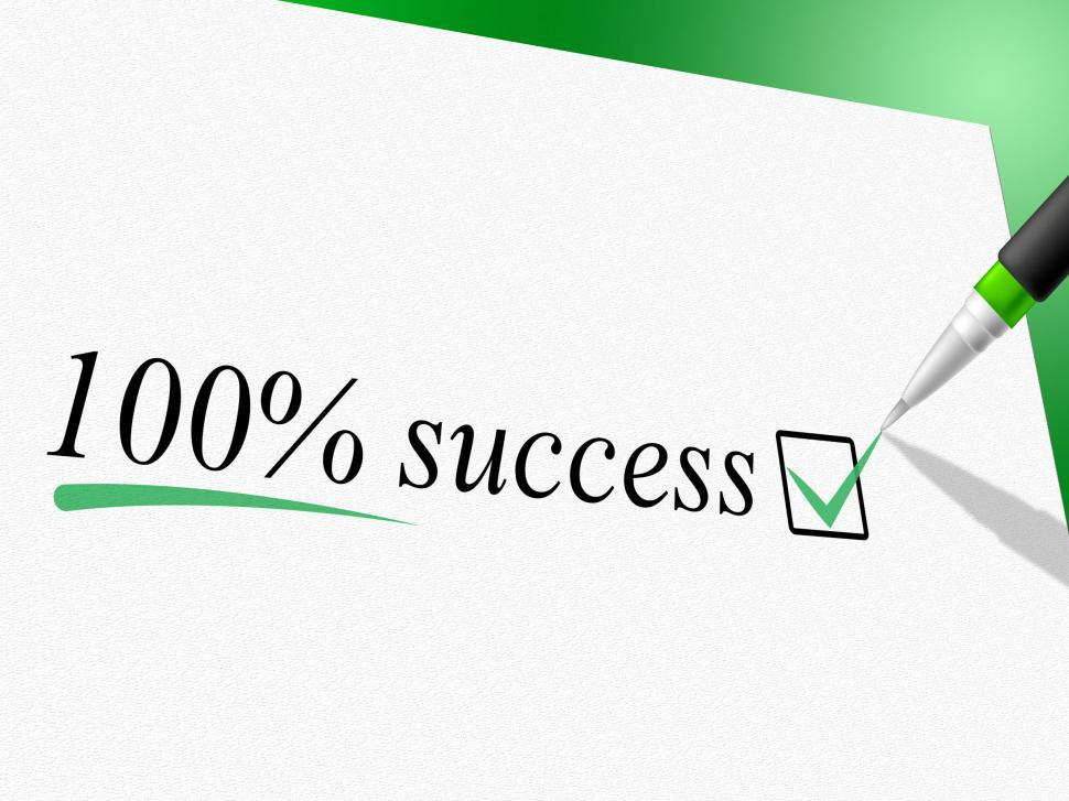 get free stock photos of hundred percent success means victorious