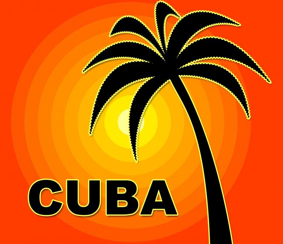 Download Free Stock HD Photo of Cuban Holiday Represents Go On Leave And Summer Online