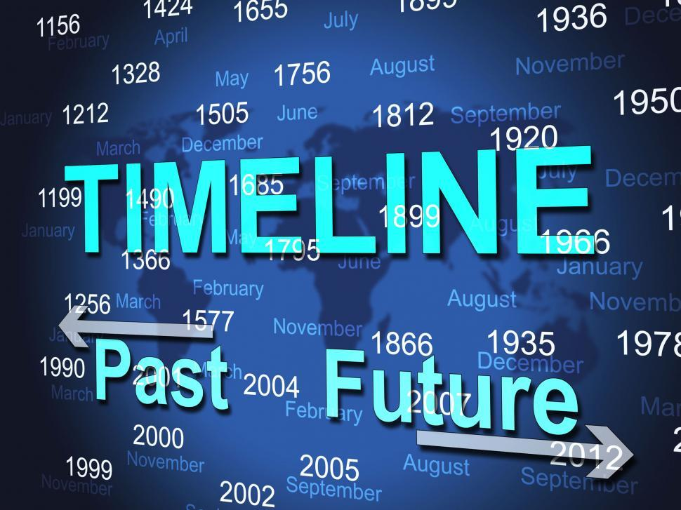Download Free Stock HD Photo of Time Line Represents Timeline Chart And Done Online