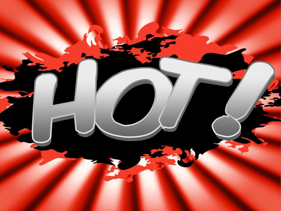 Download Free Stock HD Photo of Hot Deal Means Best Price And Boiling Online