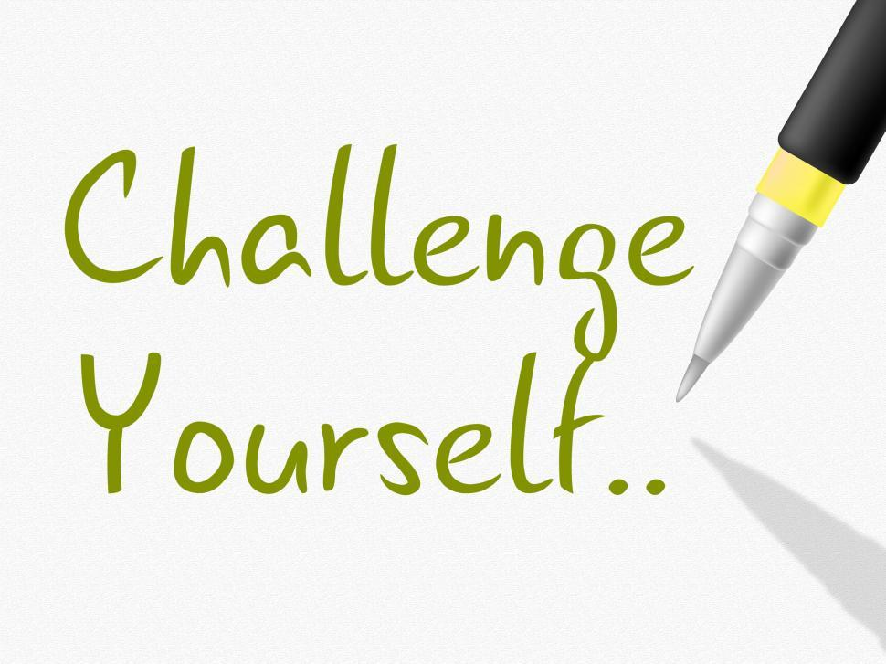 Get Free Stock Photos of Challenge Yourself Indicates Persistence