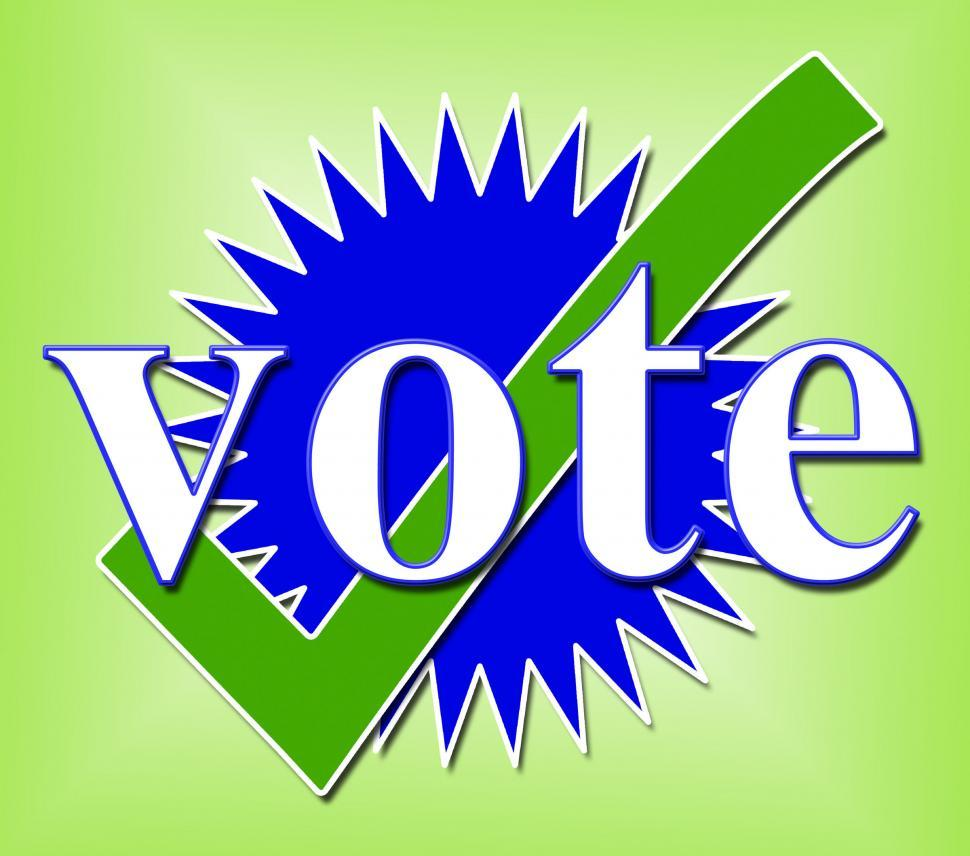Download Free Stock HD Photo of Vote Tick Means All Right And Ok Online