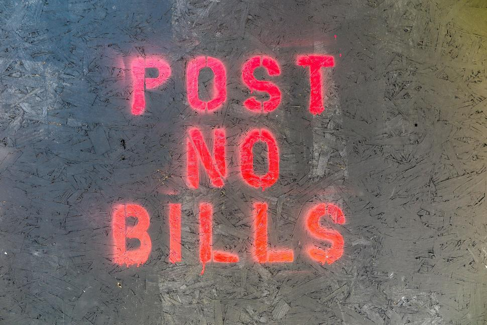 Download Free Stock HD Photo of Post no Bills Online
