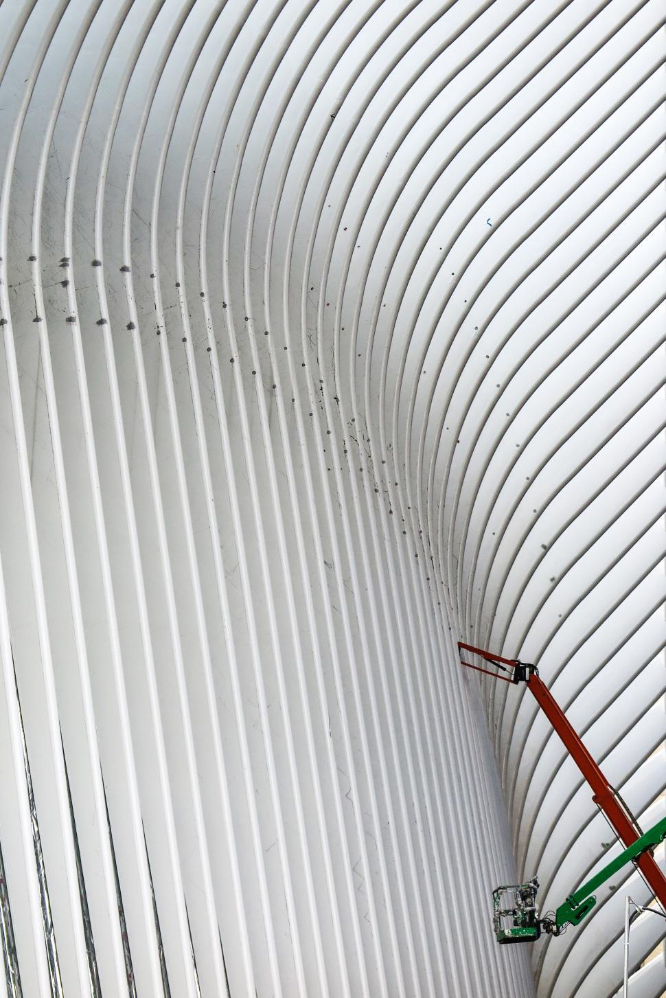 Download Free Stock HD Photo of Construction on curved facade Online