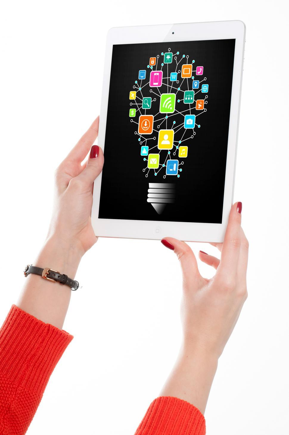 Download Free Stock HD Photo of Information Technology Idea on Tablet Online