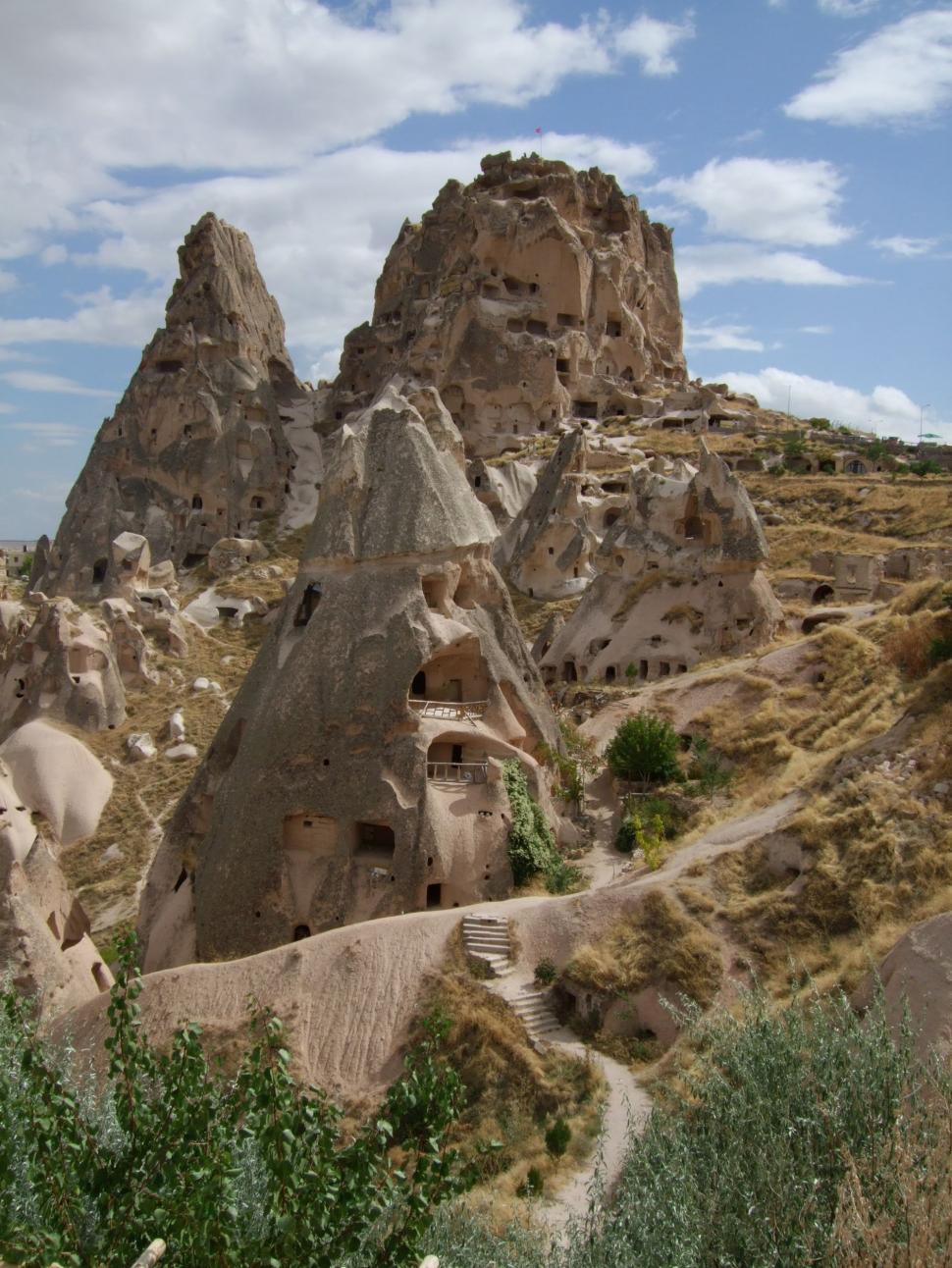 Download Free Stock HD Photo of Beautiful wide landscape from Cappadocia in Turkey  Online