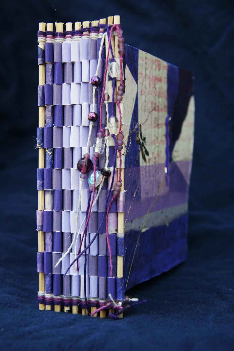 Download Free Stock HD Photo of Hand made book spine Online