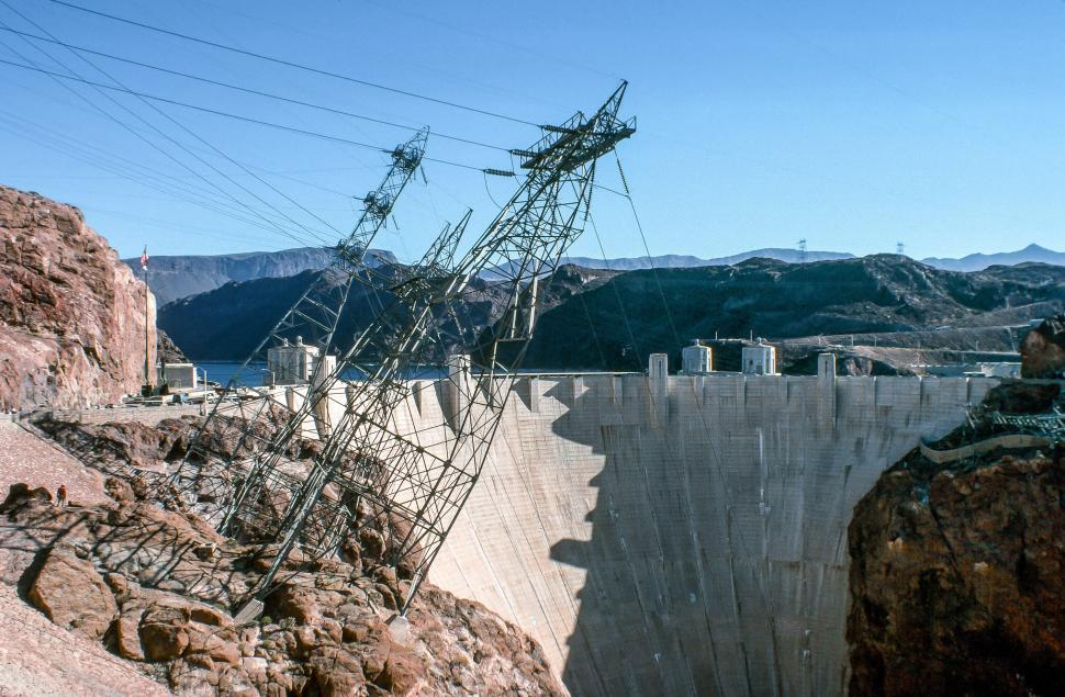 Download Free Stock HD Photo of Hoover Dam Online