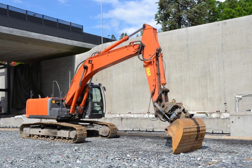 Download Free Stock HD Photo of Crawler excavator  Online