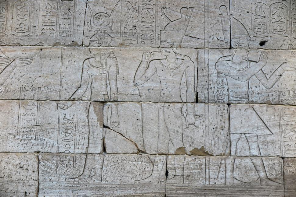 Download Free Stock HD Photo of Egyptian Carvings Online