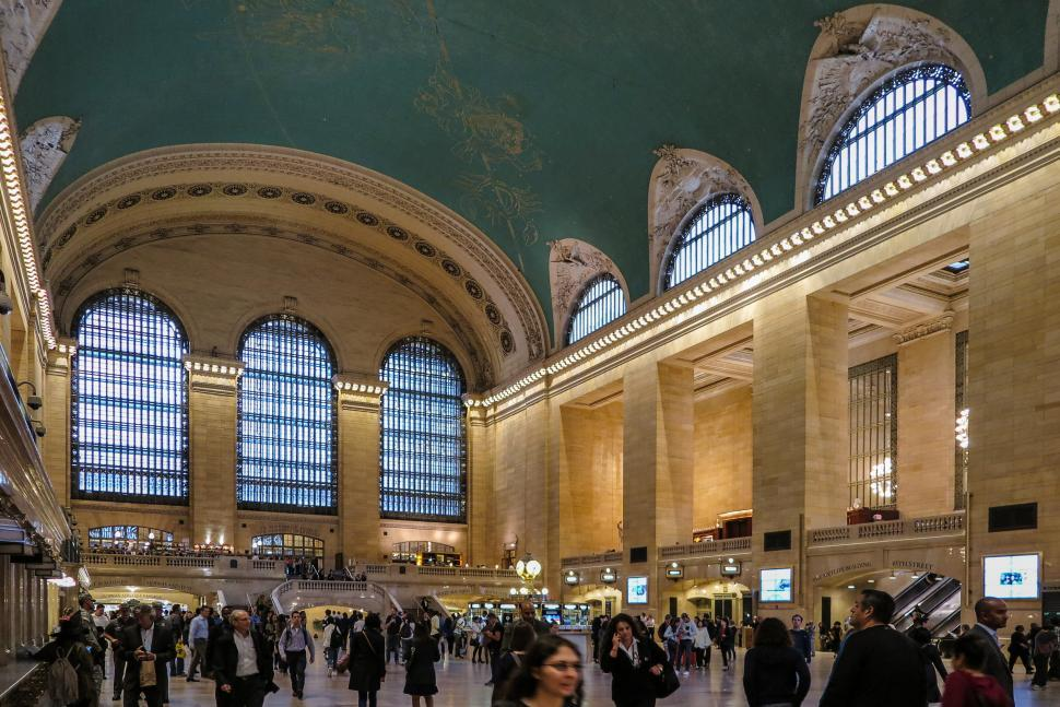 Download Free Stock HD Photo of Grand Central Station Online