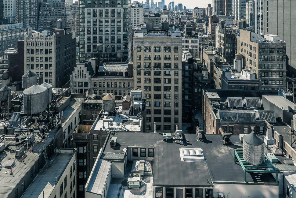 Download Free Stock HD Photo of New York City Density Online