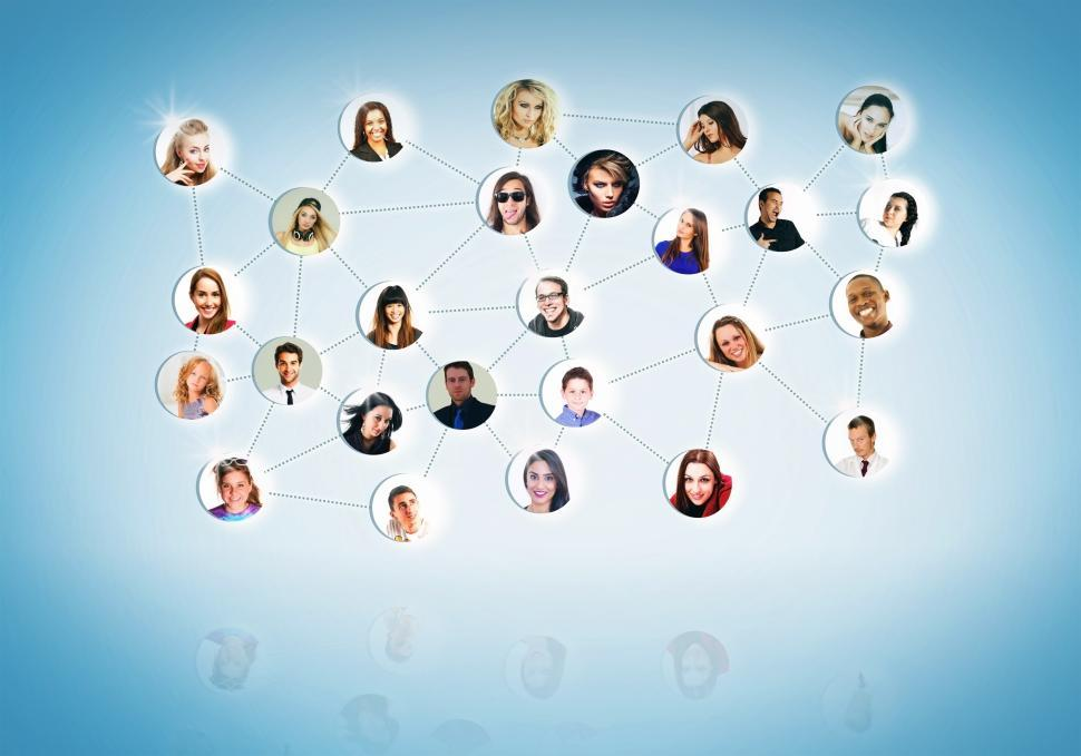 Download Free Stock HD Photo of A Network of People - Networking Concept Online