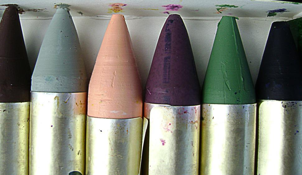 Download Free Stock HD Photo of Oil Pastels Online