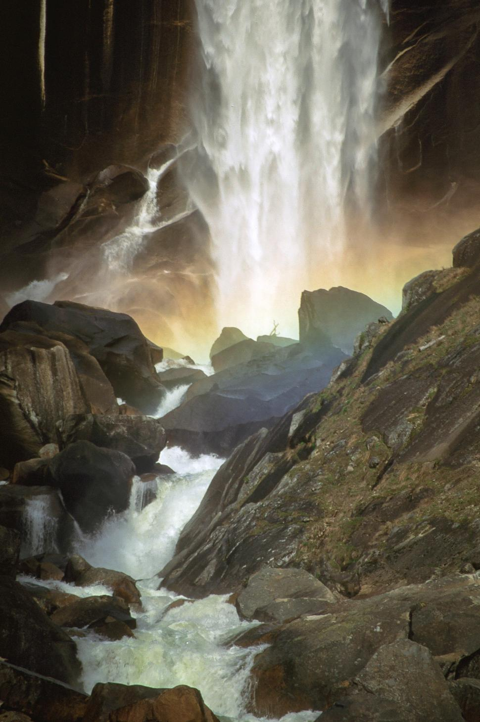 Download Free Stock HD Photo of Vernal Waterfall Online