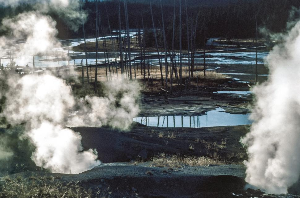 Download Free Stock HD Photo of Porcelain Basin Hot Springs Online